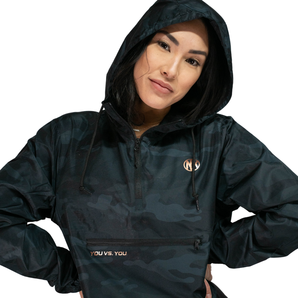 "NX ""Versus"" Women's Crop Top Windbreakers - Nemesis X"