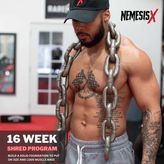 NX Train: 16 Week Shred Program - Nemesis X