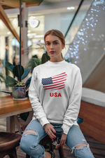 Load image into Gallery viewer, USA Unisex Crewneck Sweatshirt