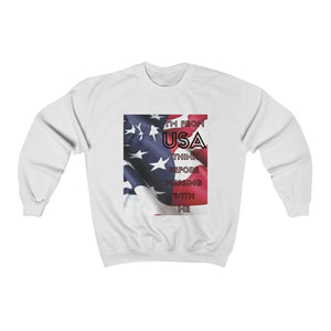 I'm From USA Think Again Before Messing With Me Unisex Sweatshirt
