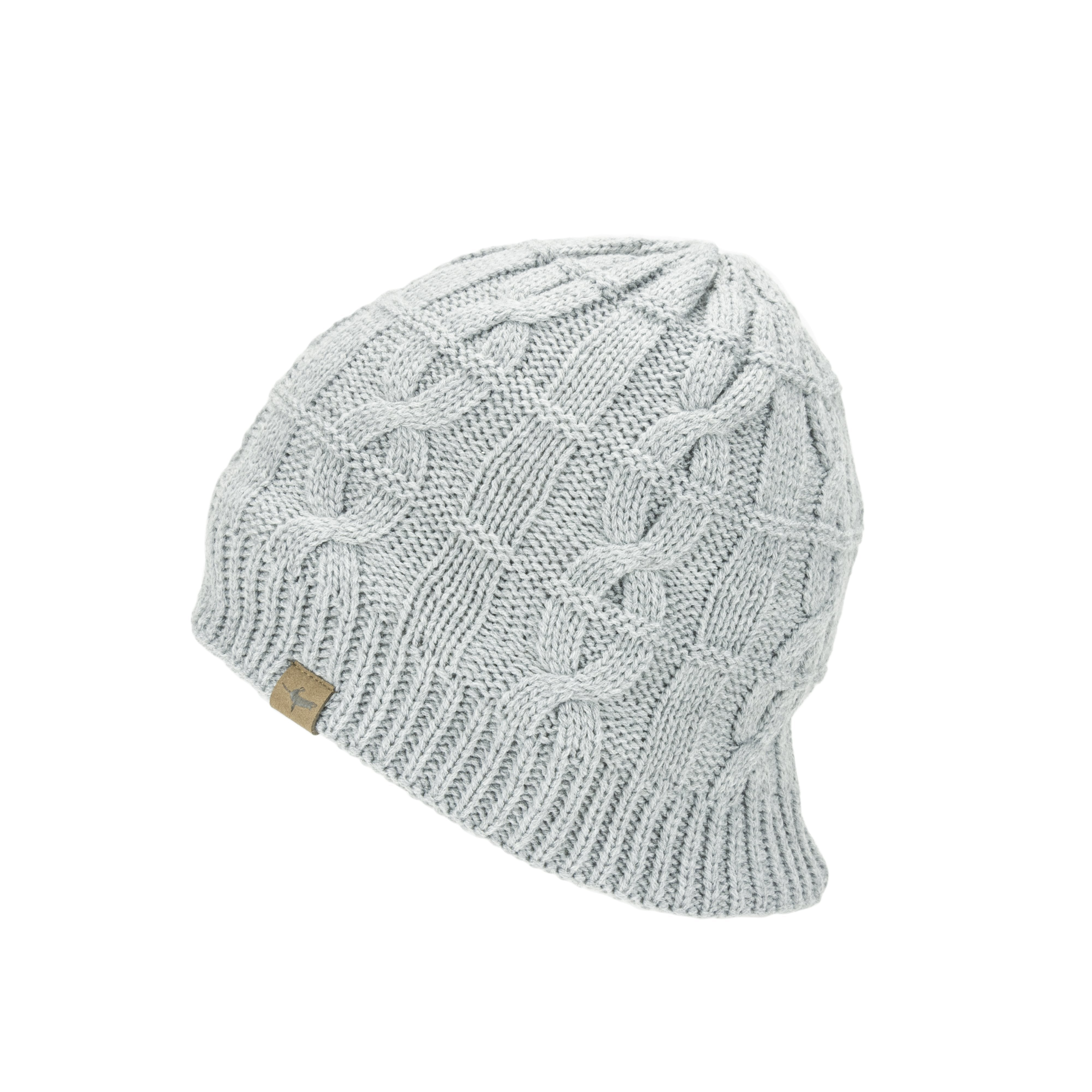 Waterproof Cold Weather Cable Knit Beanie Hat