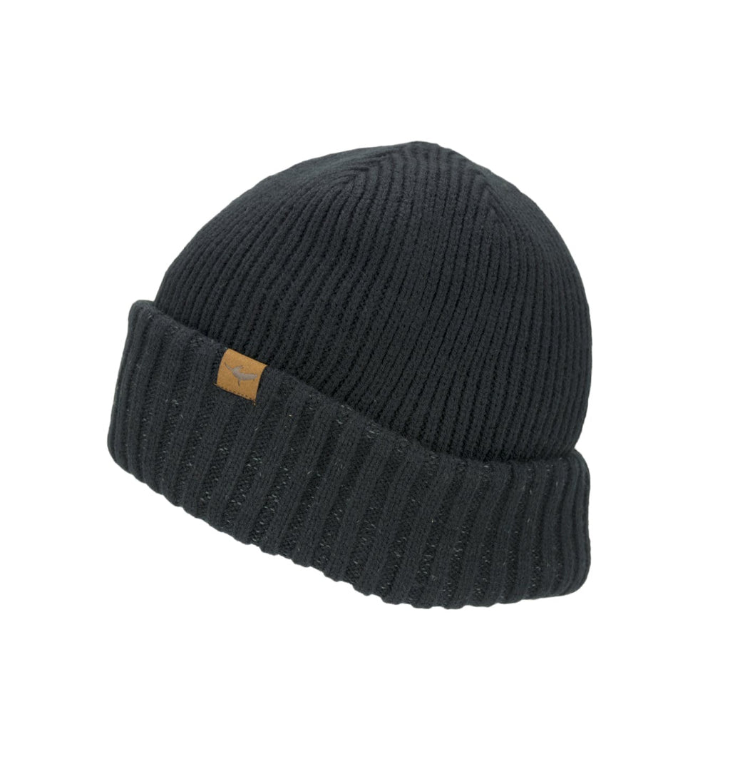 Waterproof Cold Weather Roll Cuff Beanie Hat