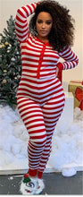 Load image into Gallery viewer, 2020 Christmas Women Household Pajama Sets Romper Sleeping Jumpsuit Long Sleeve Cotton Xmas Sleep Wear Home Wear
