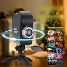 Load image into Gallery viewer, Window Wonder Laser Display - Halloween x Christmas - 12 movies!