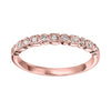 Diamond Stackable Band in Rose Gold
