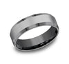 Titanium Men's Wedding Band- 7 mm