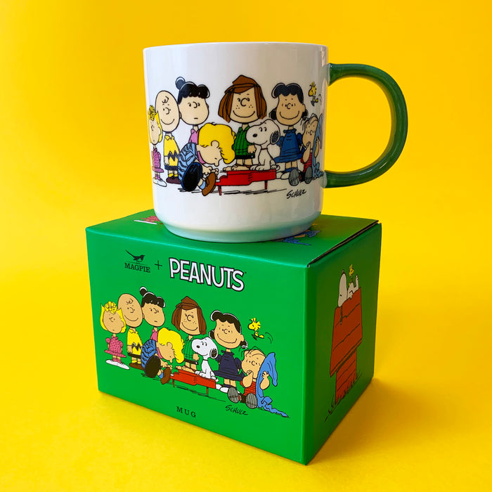 Peanuts Mugs Gang House