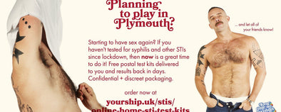 PrEPSTER Long Time No Syphillis Campaign with The Eddystone Trust in Plymouth.