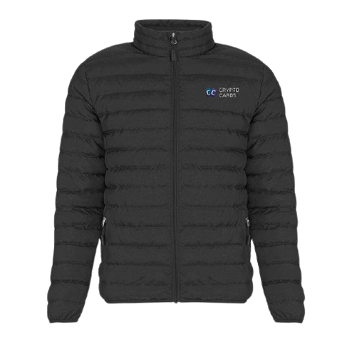 Crypto Cards Puffer Jacket