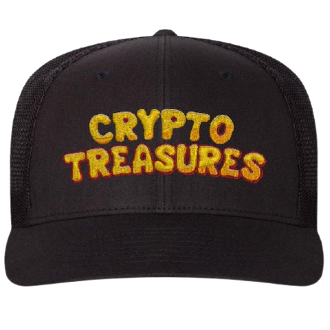 Crypto Treasures Trucker Hat