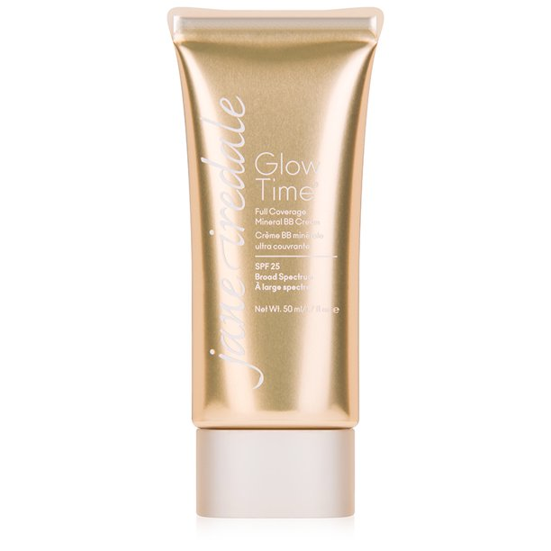 jane iredale Glow Time Full Coverage Mineral BB Cream, BB6(Light-Medium), 1.70 oz.