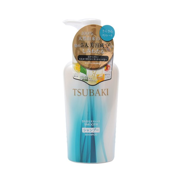 Tsubaki Natural Smooth Shampoo 450ml
