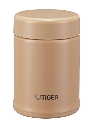 Tiger Stainless Steel Vacuum Insulated Soup Cup, 8-Ounce, Mocha Brown
