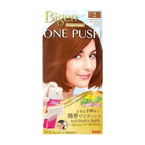 Bigen Cream Color One Push #2 Lightest Brown