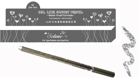 Solone Gel-like Smoody Pencil-12 Star Dust
