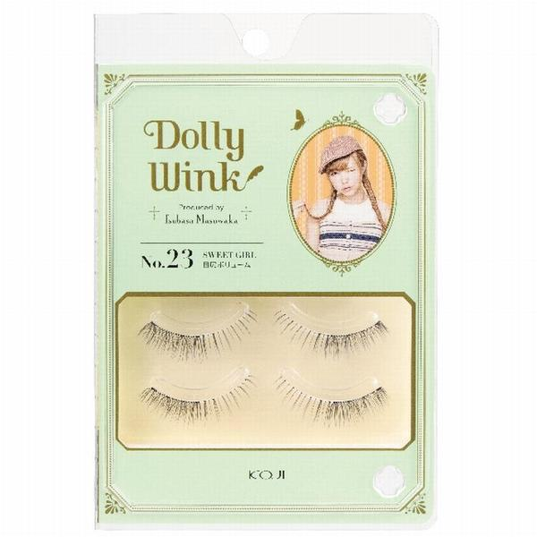 DOLLY WINK Koji False Eyelashes, No. 23 Natural Baby