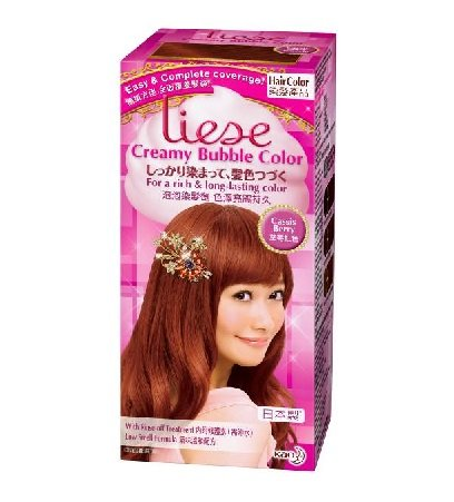Kao - Liese Bubble Hair Color (Cassis Berry)