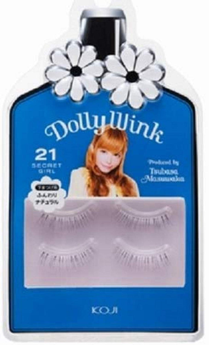 Koji Dolly Wink False Eyelashes #21 Secret Girl