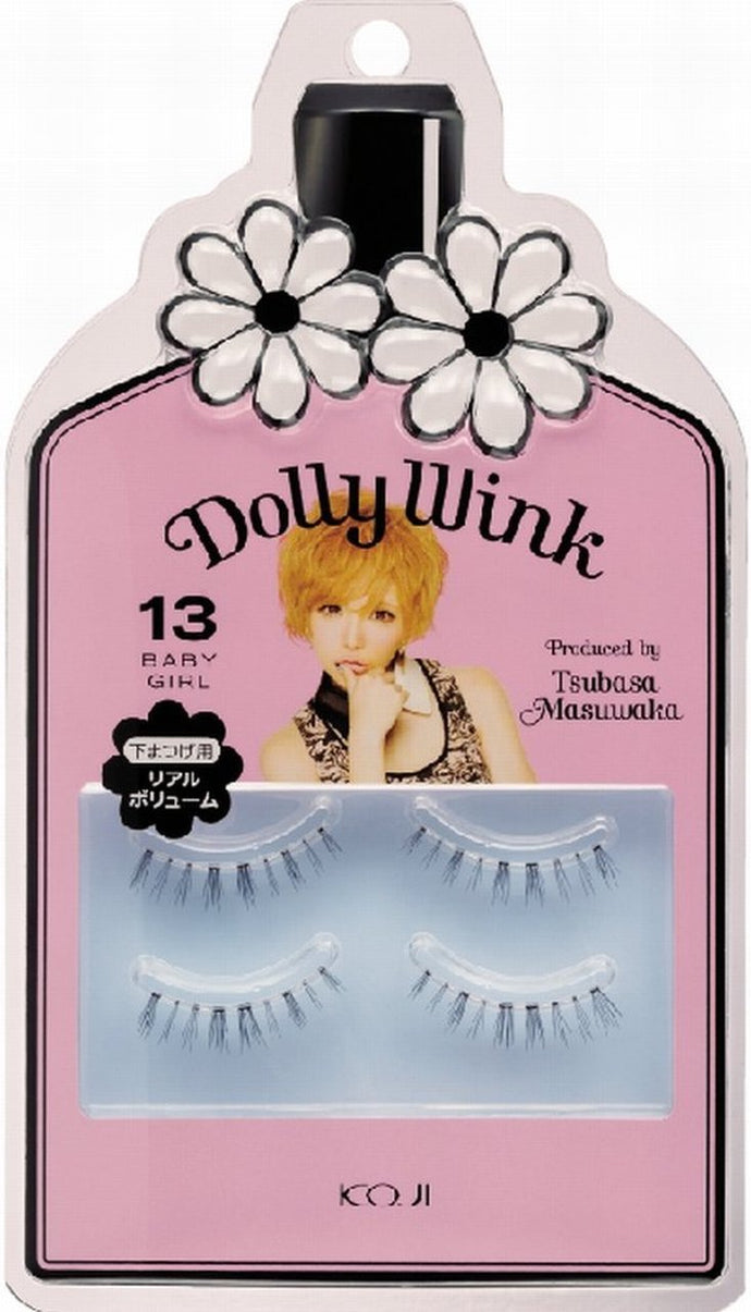 Dolly Wink Japan - [Cozy Honpo] Dolly Wink Eyelashes No.13 Baby Girl