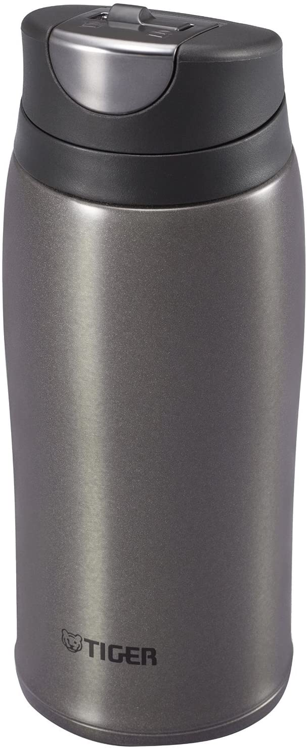Tiger Corporation Stainless Steel Vacuum Insulated Travel Mug, 12 oz, Black