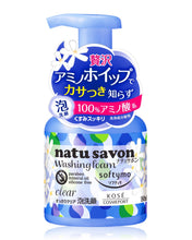 Load image into Gallery viewer, KOSE Softy Mo Natu Savon Foam Wash Clear