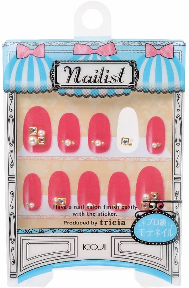 Japan Health and Beauty - Manicurist Nail Art seal No.23 Healthy LadyAF27