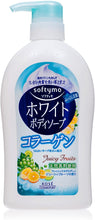 Load image into Gallery viewer, Kose Cosmeport Softymo White Collagen Body Soap 20.29fl.oz./600ml Pump