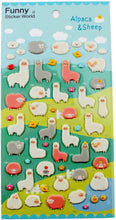 Load image into Gallery viewer, Funny Sticker World Alpaca and Sheep Stickers