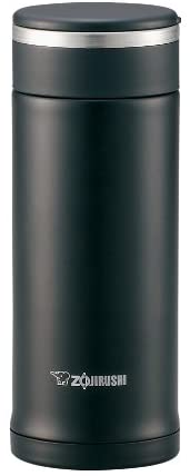 Zojirushi 0.36-Liter Stainless Steel Vacuum Insulated Mug, Black