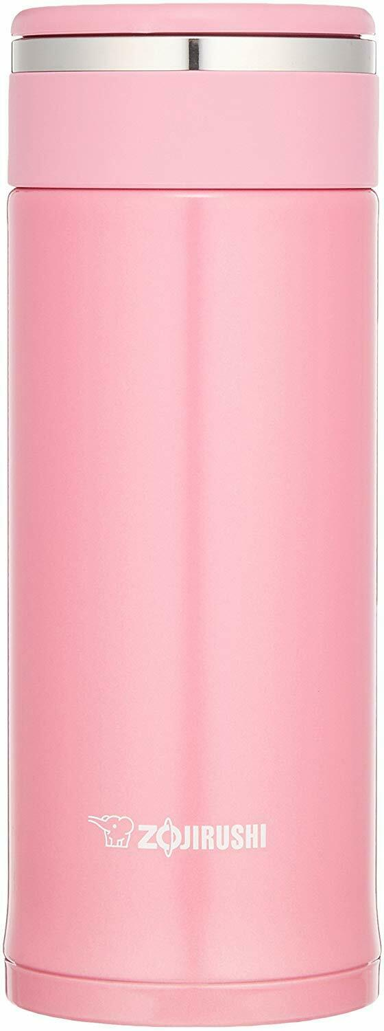 ZOJIRUSHI Stainless steel Mug Direct Drinking 360ml Pink SM-JD36-PA Water Bottle