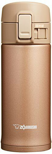 Zojirushi water bottle straight stainless mug 360ml Rose gold SM-KC36-NM