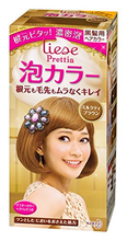 Load image into Gallery viewer, KAO Prettia Bubble Hair Color, Milktea Brown
