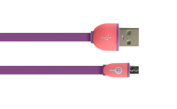 Cable de Audio 3.5 mm (Rosa/Morado)