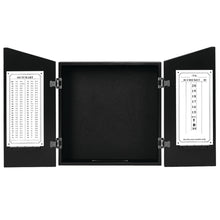 Load image into Gallery viewer, DARTBOARD CABINET-BLACK
