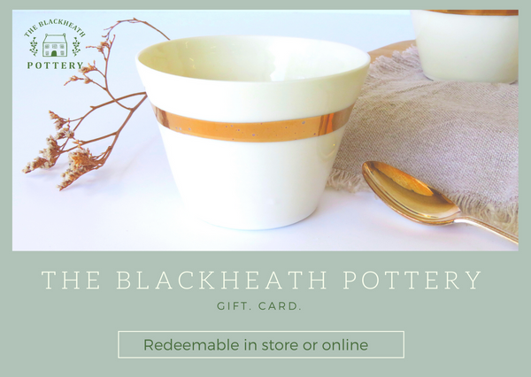 The Blackheath Pottery Gift Card