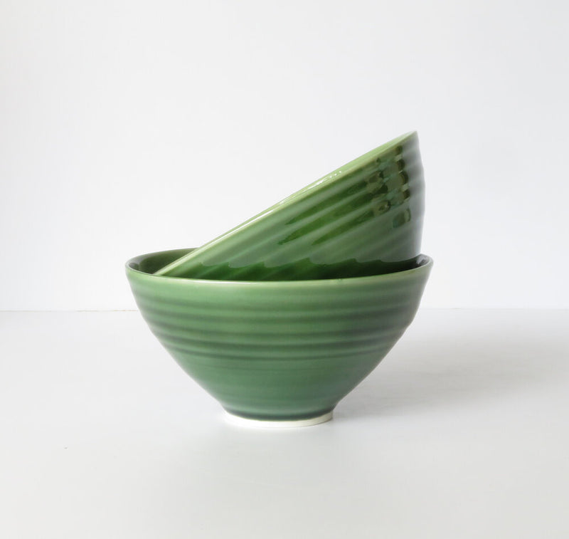 Cereal Bowl in Moss Green
