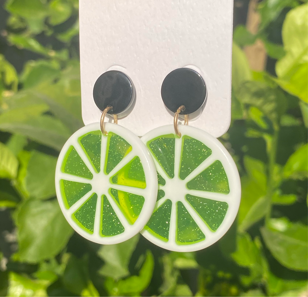 Fruity Lime Earrings