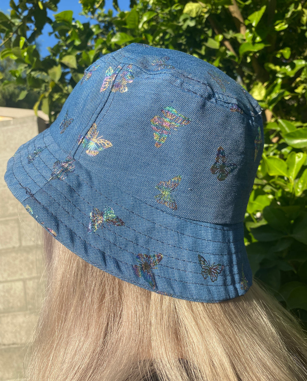 Halo Butterlfy Bucket Hat