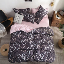 Load image into Gallery viewer, Home Textiles  Bedding Set Bedclothes include Duvet Cover Bed Sheet Pillowcase Comforter Bedding Sets Bed Linen
