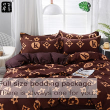 Load image into Gallery viewer, Bedding Set 4 Pieces/Set Bed Textile Products Bedding 5Style Aloe Cotton Comfortable Modern Bed Linen Home Textiles
