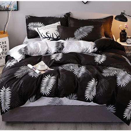Bedding Set 4 Pieces/Set Bed Textile Products Bedding 5Style Aloe Cotton Comfortable Modern Bed Linen Home Textiles