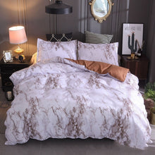 Load image into Gallery viewer, 3pcs nordic duvet cover set Marbling bedding set bed linen set Queen King Quilt Cover Bedclothes Pillow case for Home Textile