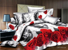 Load image into Gallery viewer, 3d bedding set, oil painting marilyn monroe bed set without filler,marilyn monroe comforter cover