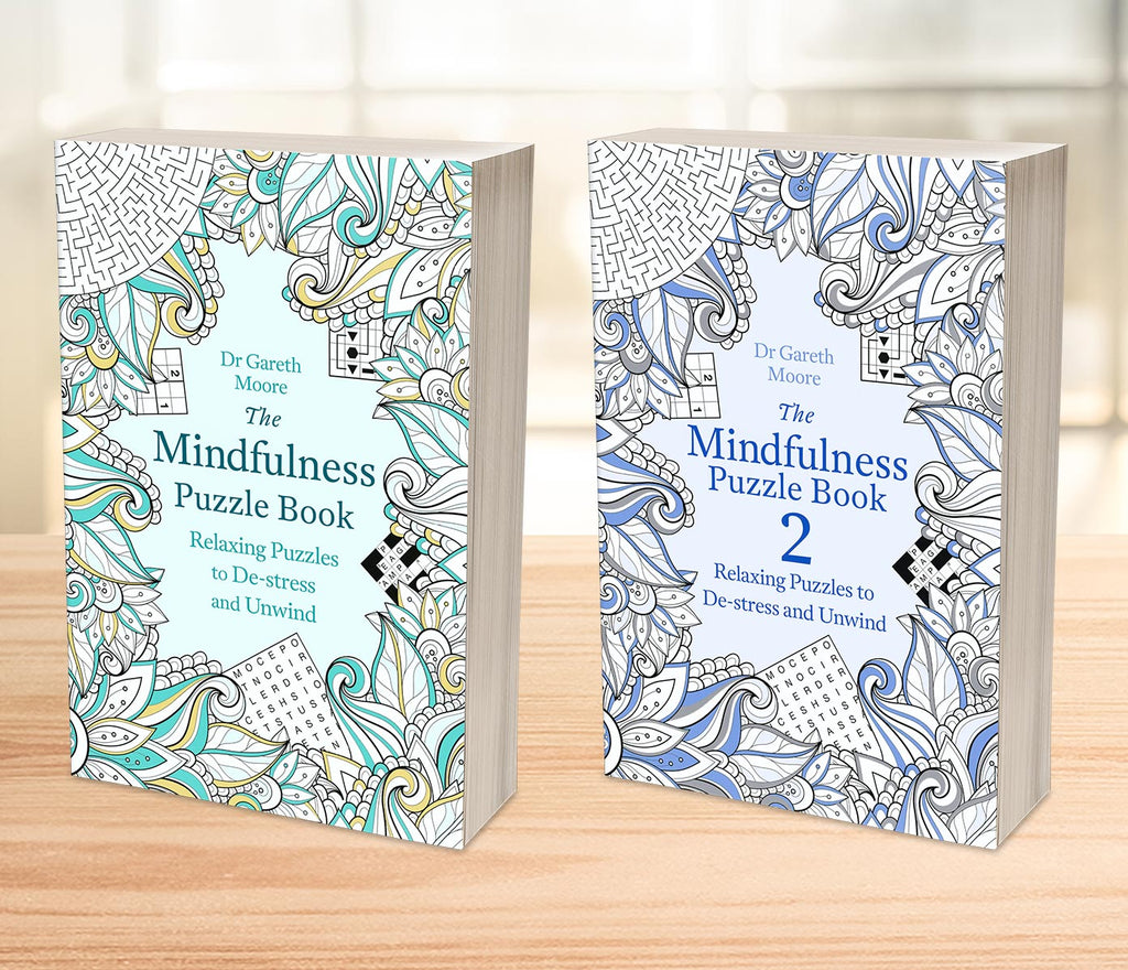 THE MINDFULNESS PUZZLE BOOK 1 & 2 SET (PQ05A)