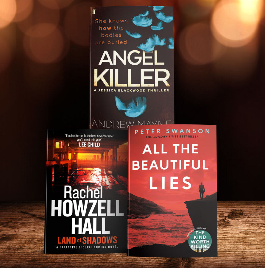 Crime thrillers from up and coming American writers (MT37A)