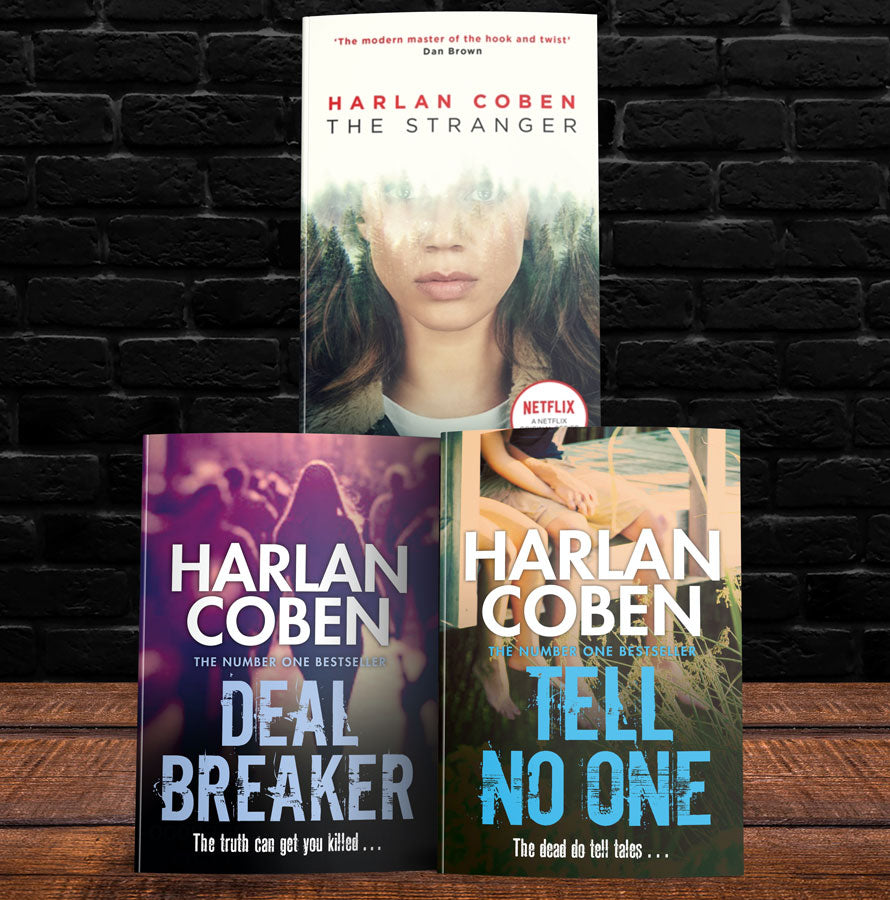Harlan Coben Mixed Set (MT48A)