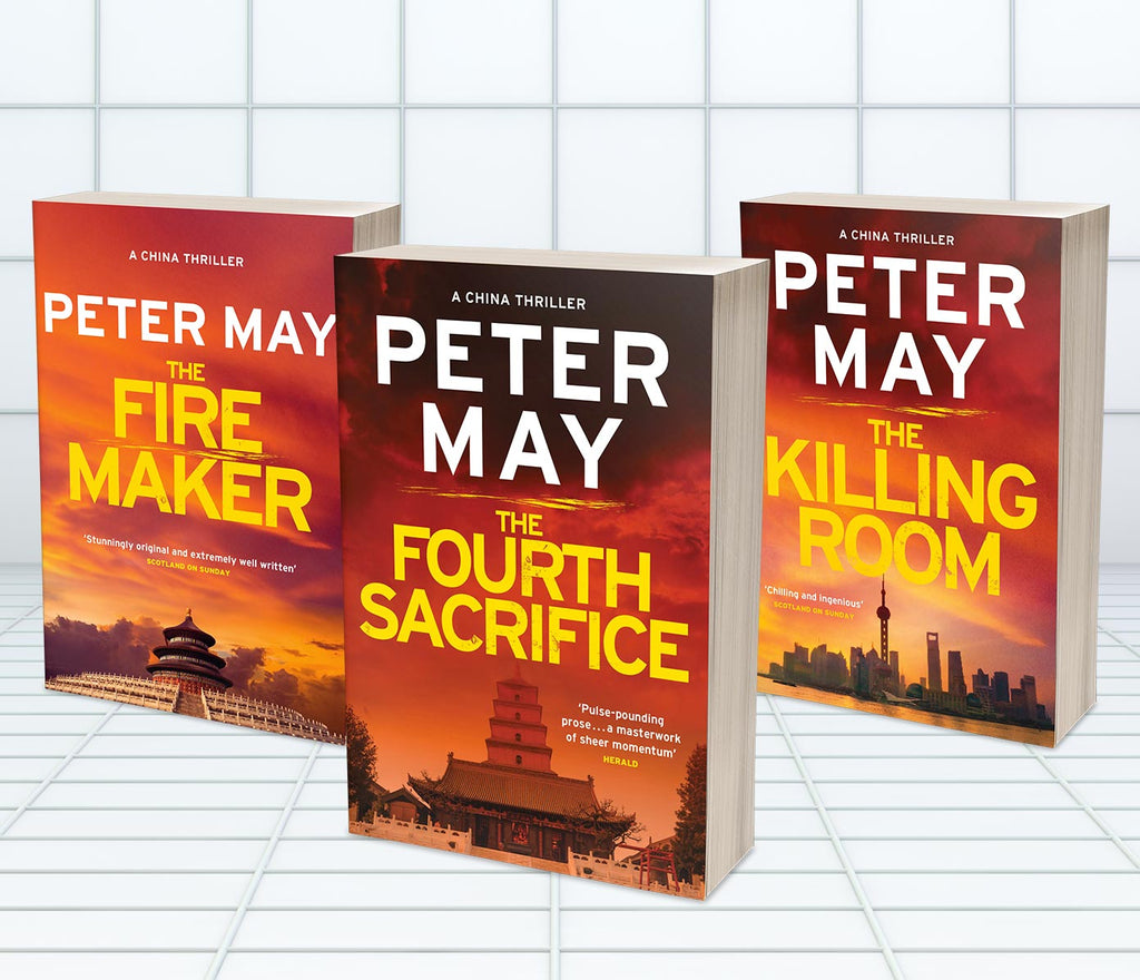 PETER MAY - CHINA THRILLERS (MT64A)