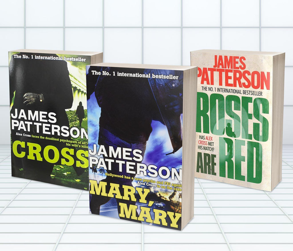 JAMES PATTERSON ALEX CROSS SET (MT73A)
