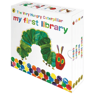 Eric Carle: Very Hungry Caterpillar 4 book slipcase