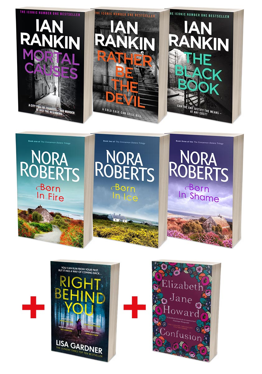 Best of Ian Rankin Bundle + Nora Roberts Concannon Sisters Bundles (MT34D + SR02C)